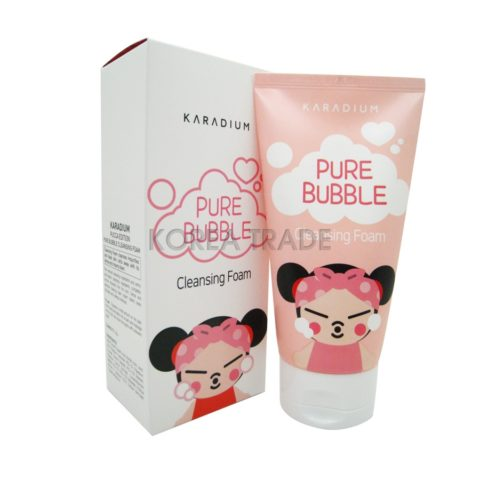 KARADIUM Pure Bubble Cleansing Foam Pucca Edition Пенка для умывания