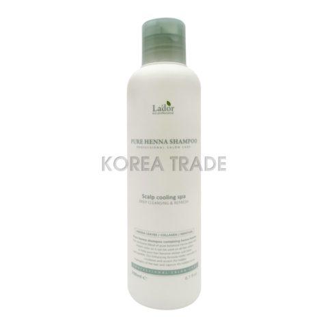 La'dor Pure Henna Shampoo Профессиональный укрепляющий шампунь с хной