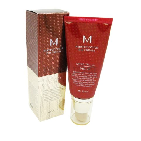 MISSHA M Perfect Cover BB Cream #21 Light Beige ВВ-крем 50мл