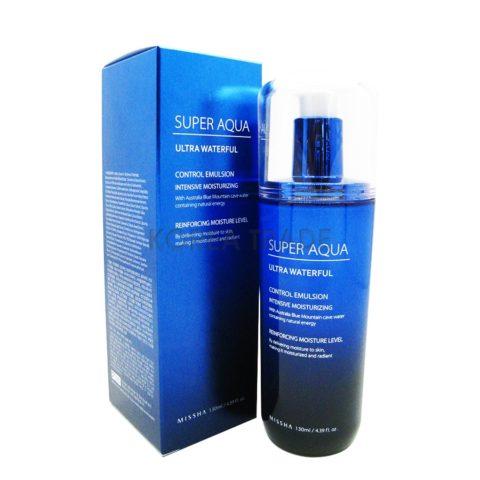 MISSHA Super Aqua Ultra Water Full Control Emulsion Интенсивная увлажняющая эмульсия