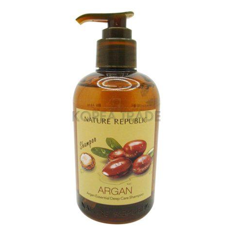 Nature Republic Argan Essential Deep Care Shampoo Увлажняющий шампунь для волос