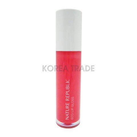 Nature Republic Eco Lip Gloss #04 Pink Блеск для губ
