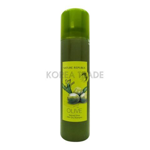 Nature Republic Natural Olive 1 Min Dry Shampoo Сухой шампунь с маслом оливы