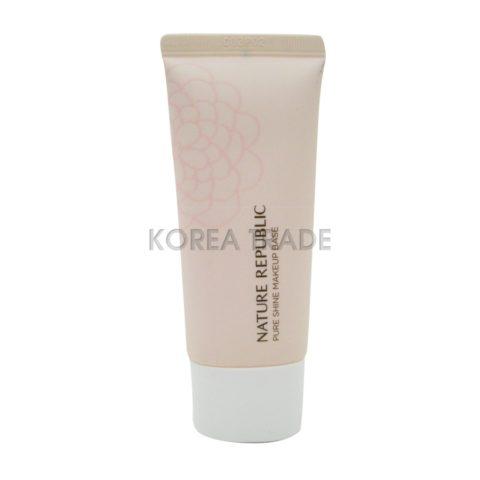 Nature Republic Pure Shine Make Up Base SPF20 PA++ #02 Vanilla Pink База под макияж