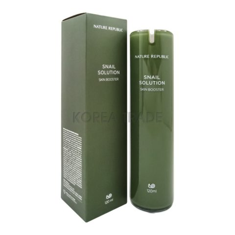 Nature Republic Snail Solution Skin Booster Бустер-тонер с экстрактом муцина улитки
