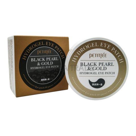 Petitfee Black Pearl & Gold Eye Patch Гидрогелевые патчи для глаз