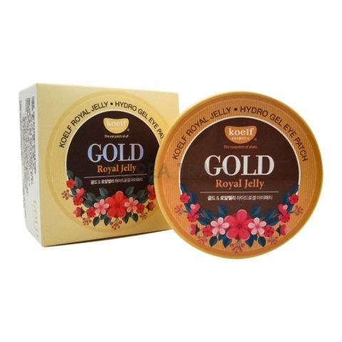 Petitfee Koelf Gold & Royal Jelly Eye Patch Гидрогелевые патчи для кожи вокруг глаз