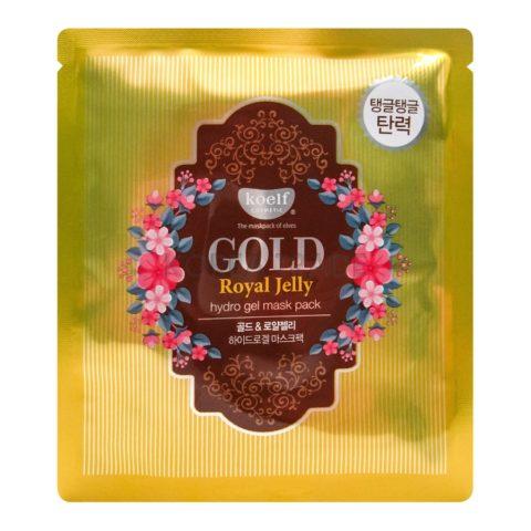 Petitfee Koelf Gold & Royal Jelly Mask Pack Гидрогелевая маска для лица с экстрактом мёда