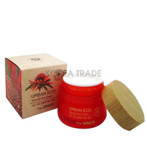 Saem Urban Eco Waratah Eye Cream Крем для кожи вокруг глаз с экстрактом телопеи