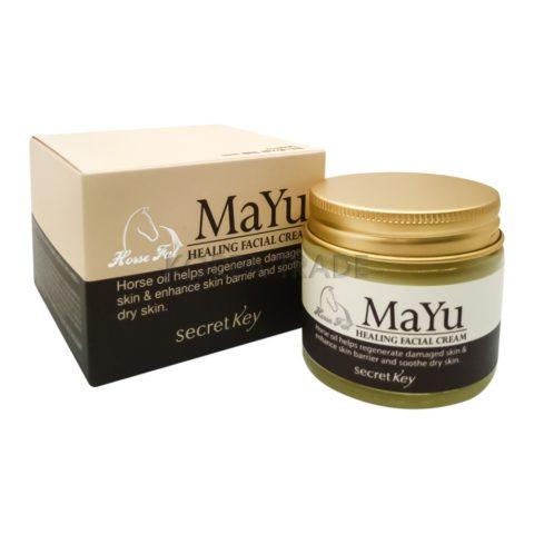 Secret Key MAYU Healing Facial Cream Крем для лица с лошадиным жиром
