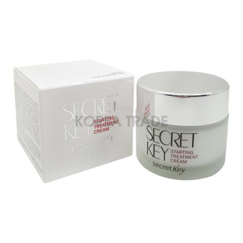 Secret Key Starting Treatment Cream Лечебный успокаивающий крем