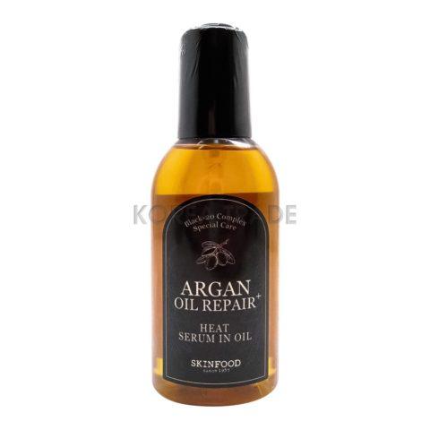 SKINFOOD Argan Oil Repair+ Heat Serum In Oil Масло сыворотка для волос с аргановым маслом