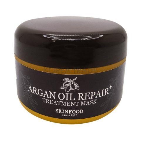 SKINFOOD Argan Oil Repair+Treatment Mask Восстанавливающая маска для волос с маслом арганы