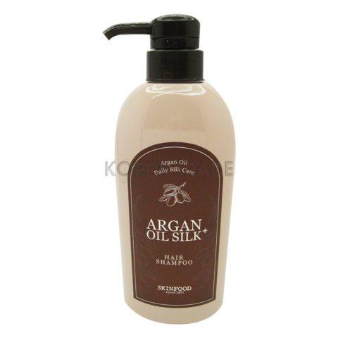 Skinfood Argan Oil Silk Plus Shampoo Шампунь с аргановым маслом