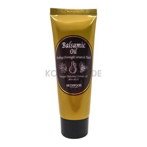 SKINFOOD Balsamic Oil Peeling Overnight Serum Mask Ночная сыворотка маска с эффектом пилинга