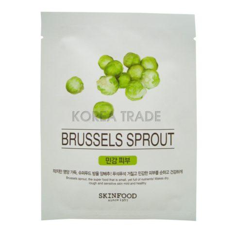 SKINFOOD Beauty In A Food Mask Sheet Brussels Sprout Тканевая маска с брюссельской капустой