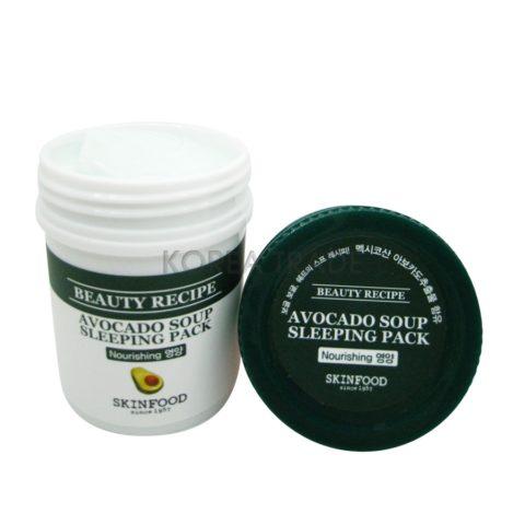 SKINFOOD Beauty Recipe Avocado Soup Sleeping Pack Ночная маска с экстрактом авокадо