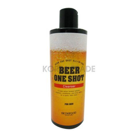 SKINFOOD Beer One Shot Cleanser for Men Очищающее средство с экстрактом пива