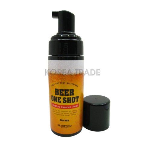 SKINFOOD Beer One Shot Moisture Essence Toner For Men Увлажняющий тоник-эссенция с экстрактом пива