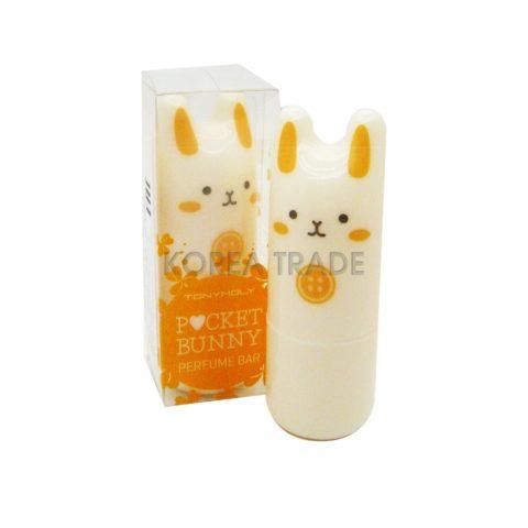 TONY MOLY Pocket Bunny Perfume Bar #01 Bebe Bunny Твердые духи-стик