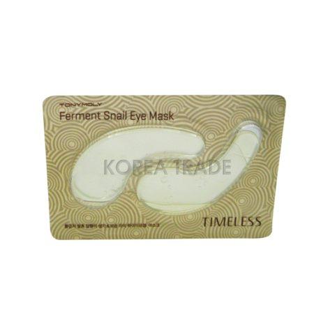 TONY MOLY Timeless Ferment Snail Eye Mask Гидрогелевые патчи с муцином улитки для кожи глаз